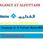 Huge Job Vacancies in Al Futtaim Motors@Dubai,UAE