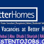 Huge Job Vacancies in Better Homes @UAE,Dubai,Abu Dhabi