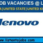 Huge Latest Job Vacancies in Lenovo @Dubai-Singapore-Malaysia-UK-USA