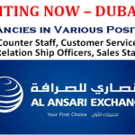 Latest Job Vacancies in Al Ansari Exchange@Dubai,UAE