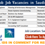 Latest Job Vacancies in Saudi Aramco 2019 | Any Graduate/ Any Degree / Diploma / ITI |Btech | MBA | +2 | Post Graduates | Saudi Arabia