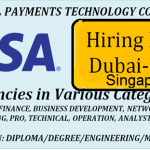 Huge Latest Job Vacancies in Visa @Dubai,UAE,Singapore,USA,UK,India|World Wide