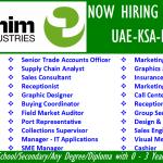 Huge Latest Job Vacancies in Alghanim Industries @Saudi Arabia,Kuwait