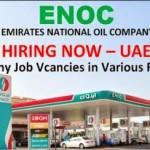 Huge Job Vacancies in Emirates National Oil Company@UAE