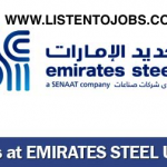 Huge Latest Job Vacancies in Emirates Steel Industries | Any Graduate/ Any Degree / Diploma / ITI |Btech | MBA | +2 | Post Graduates  | UAE,Abu Dhabi