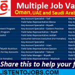 Huge Latest Job Vacancies in Nestle@UAE-Saudi Arabia-Oman