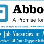 Huge Latest Job Vacancies in Abbott  2018| Any Graduate/ Any Degree / Diploma / ITI |Btech | MBA | +2 | Post Graduates  | UAE,Malaysia,Singapore,India,UK,USA