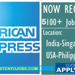 Latest Job Vacancies in American Express | Any Graduate/ Any Degree / Diploma / ITI |Btech | MBA | +2 | Post Graduates | Worldwide, Malaysia,Singapore,USA,India