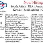 Huge Latest Job Vacancies Kentz@Australia,South Africa,Saudi Arabia,Canada,Kuwait,Philippines