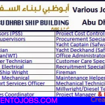 Huge Job Vacancies in Abu Dhabi Ship Building (ADSB)@Abu Dhabi,UAE