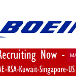 Huge Latest Job Vacancies in Boeing@Saudi Arabia,UAE,Singapore