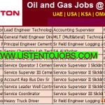 Huge Latest Job Vacancies in Halliburton @UAE,USA,UK