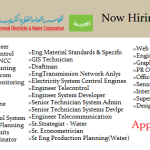 Huge Latest Job Vacancies in Qatar General Electricity and Water Corporation (KAHRAMAA)@Qatar, UAE