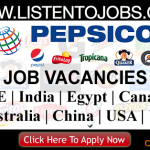 Huge Latest Job Vacancies in Pepsico @Dubai,UAE,USA,Singapore,India