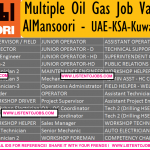Huge Latest Engineering Job Vacancies in AlMansoori@UAE,Saudi Arabia,Kuwait