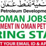 Huge Latest Job Vacancies in Petroleum Development Oman (PDO) | Any Graduate/ Any Degree / Diploma / ITI |Btech | MBA | +2 | Post Graduates | OMAN