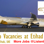 Huge Latest Job Vacancies in Etihad Airways@UAE,Abu Dhabi,US