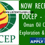 Latest Oil Job Vacancies in Oman Oil Company Exploration and Production LLC (OOCEP)@Register Your CV Now