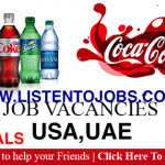 Huge Latest Job Vacancies in Coca-Cola Company @India,UAE,Malaysia,Singapore,USA,UK