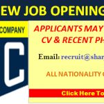 Latest Job Vacancies in Sharjah Oxygen Company@Sharjah,UAE