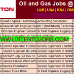 Latest Job Vacancies in Halliburton 2019| Any Graduate/ Any Degree / Diploma / ITI  | Abu Dhabi,UAE,Dubai,Saudi Arabia,Oman,Kuwait  |Accommodation | Food | Good Salary | Medical | Insurance