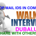 Walkin Interview Drive July 2016@Dubai,UAE