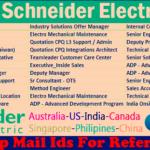 Latest Job Vacancies in Schneider Electric SE | Any Graduate/ Any Degree / Diploma / ITI |Btech | MBA | +2 | Post Graduates | UAE,Saudi Arabia,Qatar,Kuwait,Malaysia,Singapore