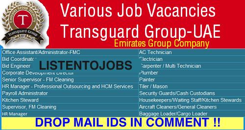 Huge Latest Urgent Vacancies Recruitment in Dubai @Emirates