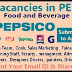 Huge Latest Job Vacancies in Pepsico 2018 | Any Graduate/ Any Degree / Diploma / ITI |Btech | MBA | +2 | Post Graduates | Dubai,Saudi Arabia,UAE,Singapore,India