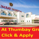 Huge Latest Job Vacancies in Thumbay Group Hospitals @UAE,Dubai |Good Salary |Medical |Food |Apply Online