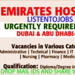 Latest Job Vacancies in Emirates Hospital 2017 Dubai | Abu Dhabi | Al Ain|Apply Online |Medical Insurance |Good Salary