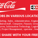 Latest Job Vacancies in Coca-Cola Company 2019 | Any Graduate/ Any Degree / Diploma / ITI | Across World | Good Salary | Food | Accommodation | Insurance