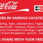 Latest Job Vacancies in Coca-Cola Company 2018 | Any Graduate/ Any Degree / Diploma / ITI | Across World | Good Salary | Food | Accommodation | Insurance