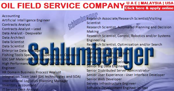 Schlumberger LATEST Job Vacancies 2017   ListenToJobs