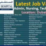 Latest Job Vacancies in American Hospital Dubai |  Any Graduate/ Any Degree / Diploma / ITI |Btech | MBA | +2 | Post Graduates | UAE
