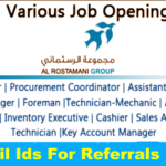 Latest Job Vacancies in The Al Rostamani Group 2020| Any Graduate/ Any Degree / Diploma / ITI |Btech | MBA | +2 | Post Graduates | UAE