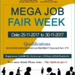 Andhra Pradesh Information Technology Acadamy (APITA) Mega Job Fair 2017 | 4200+ Vacancies | Freshers /Experienced | Multiple Positions | Andhra Pradesh | 25th to 30th November 2017
