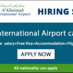 Latest Job Vacancies in Ras Al Khaimah (RAK) International Airport | Any Graduate/ Any Degree / Diploma / ITI |Btech | MBA | +2 | Post Graduates  | UAE